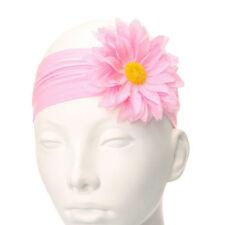 Accessoires de coiffure bandeau rose pour fille de 2 à 16 ans