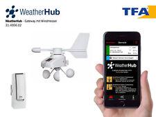 TFA 31.4006.02  WeatherHub SET7 mit Funk-Windmesser