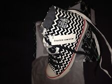 FRANKIE MORELLO ZIG ZAG PATTERN SNEAKERS NEW W TAGS SOLD OUT 8.5 US 7.5 UK 41 EU