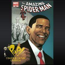 Amazing SPIDER-MAN #583 Barack OBAMA 5th Printing VARIANT Marvel Comics 2009 NM!