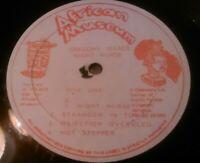 GREGORY ISAACS - NIGHT NURSE LP ( NO COVER ) RARE JAMAICAN AFRICAN MUSUEM JA