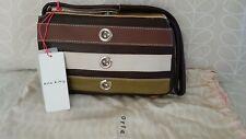 Orla Kiely Mini Leather Shoulder Bag -Multi