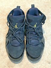 Jordan Nike Air Flight Club '91 Basketball Shoes Black/Gold 555475-031 size  7.5