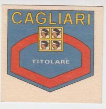 Figurina Panini Calciogrado in Texilina Cagliari Titolare Calciatori 74 - 75