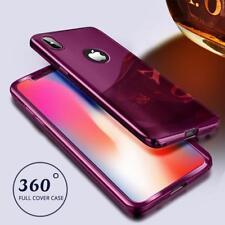 Coque Protection Intégrale Pour Iphone 7 Miroir Couleur Fushia + Vitre de Prote