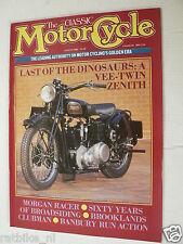 CLASSIC MOTORCYCLE 1988-08,ZENTIH V-TWIN,MORGAN RACER,ONSLOW 250 1927,SPEEDWAY,M