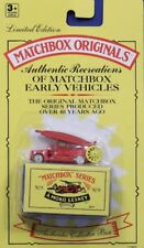 Matchbox Originals #9 1948 Dennis F2 Fire Engine 1955 MOC 1992