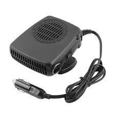 12V Portable Ceramic Heating Heater Fan Car Defroster Demister Q#