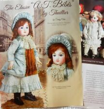 15p History Article - Antique Bisque French Bebe Dolls of Andre Thuillier (A.T.)