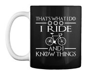 I Ride Cycle And Know Things Cycling - That's What Do Gift Coffee Mug