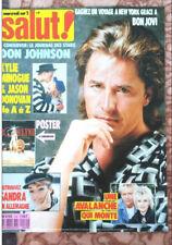 Sandra Lauer Cretu *SALUT* Magazine Cover, Mai/1989, A4.