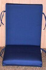"""(1) Outdoor Patio Chair Cushion ~ Sunbrella® True Blue ~ 21"""" x 46"""" x 3"""" **NEW**"""