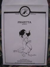 Frazetta portfolio II ( UK )  RARE 1976 Falcon Press
