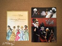 2011 Disney Designer Doll Princess 2012 Villain Brochure Pamphlet Advertisement