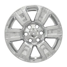 "Fits Nissan Titan 2016-2018 CCI CHROME 18"" Wheel Skins Hubcaps Wheel Covers"