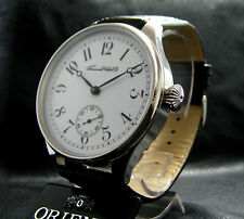 TAVANNES Luxury Mens Gift Antique Pre-WWII Era Large STAINLESS STEEL Watch