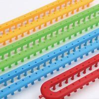 Nadel Weben Werkzeug Kunststoff Strickmaschine Haken Werkzeug Rechteck DIY W2Z4