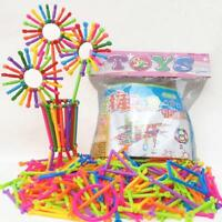 Child Plastic Sticks Building Blocks Baby Assembled Educational Toy Gift CO