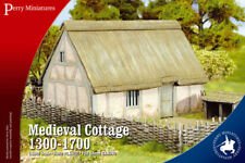 MEDIEVAL COTTAGE 1300-1700 - PERRY MINIATURES - LION RAMPANT