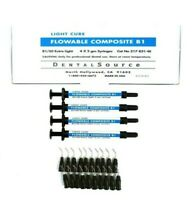 Light Cure Flowable Composite 4 Syringe Kit Shade B1