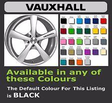 Vauxhall calcomanías o adhesivos para Llantas de aleación x 6