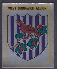 PANINI-CALCIO 80 - # 341 West Bromwich Albion BADGE