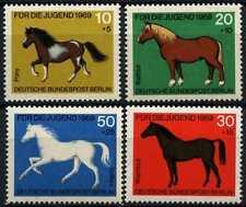 Berlin 1969 SG#B328-B331 Child Welfare Horses MNH Set #D72546