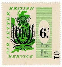 (I. B) Cendrillon Collection: BEA Air Lettre service 7d