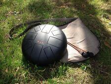 """UFO drum Steel tongue drum( also known asTank or Hand drum) 10"""""""