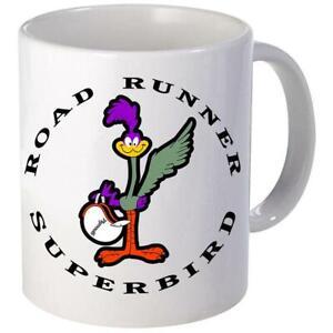 Plymouth Superbird Road Runner Logo Coffee Mug 11oz 15 oz Ceramic NEW