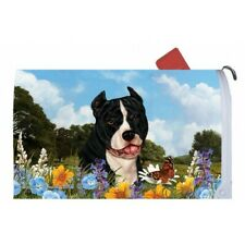 Magnetic Mailbox Wrap (Summer) - American Pit Bull Terrier 56405