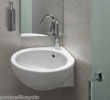 Lavabo bagno sospeso o appoggio angolare dx 46 cm You&me in ceramica Hatria