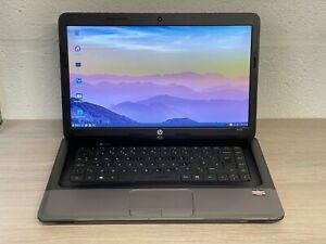 HP 655 Laptop, AMD E2-1800 1.80GHz, 4GB RAM, 500GB HDD, Linux, PSU - Grade C