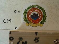 STICKER,DECAL KORPS MARINIERS ARMY QUA PATET ORBIS
