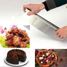 PROFESSIONAL 18/10 STAINLESS STEEL PIZZA CUTTER ROCKER KNIFE SLICER KITCHEN NEW