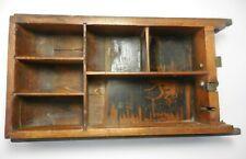 Antique Wood Cash Register Drawer Till Patina Bk4