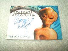 Stargate Atlantis Autograph Card Trevor Devall as Voice of Hermiod