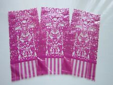 12 PINK CELLOPHANE BAGS | 29cm x 13cm | Wedding Favours Sweets Gifts Toys Crafts