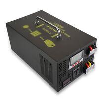 Hybrid Inverter 1500W 12V/24V DC to 120V/220V AC Power Inverter 30A Controller