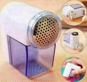 Cordless Battery Operated LINT REMOVER Bobble Fabric Clothes Dust Debobbler UK