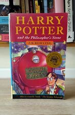 Harry Potter & The Philosopher's Stone J.K. Rowling 1997 1st First Edition 32
