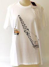 T-shirt PAUL SMITH junior London bianca cotone 100% stampa che non si cancella