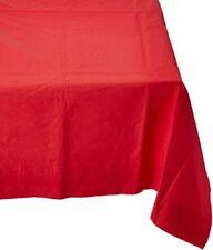 Apple Red Papier Tischdecke 137cm X 274cm