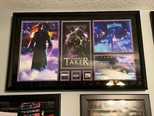 """WWE WrestleMania 33 The Undertaker """"Thank You Taker"""" Full Sized Plaque #82/500!!"""