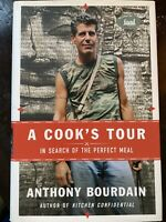 Anthony Bourdain Cook's Tour First Ed./First Print signed