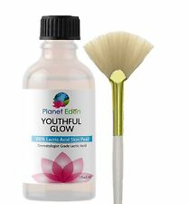 FREE FAN BRUSH - 88% Lactic Skin Peel 100% Pure Excellent FAST Results