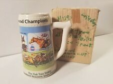 2001 OAK TREE RACING STEIN MUG CUP LIMITED EDITION Goodwood Breeders Cup