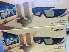 Optoma ZF2300GLASSES Active Shutter Rechargeable 3D RF Glasses