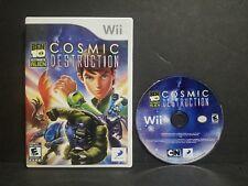 Ben 10: Ultimate Alien - Cosmic Destruction (Nintendo Wii, 2010) No Manual