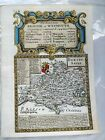 Bristol to Weymouth. Dorsetshire BY EMANUEL BOWEN GENUINE ANTIQUE MAP c1720